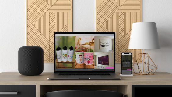 Página web y tienda virtual – T-Krea