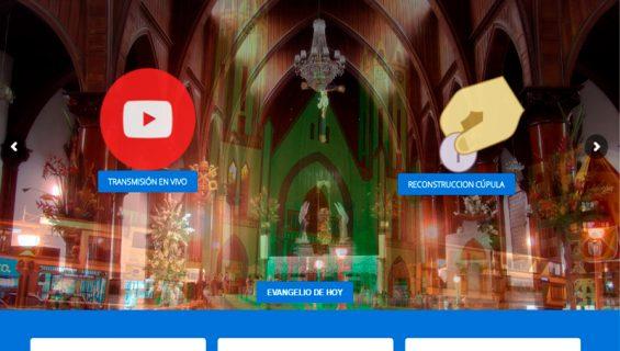 Página web y Streaming – Basílica menor Sta Rosa