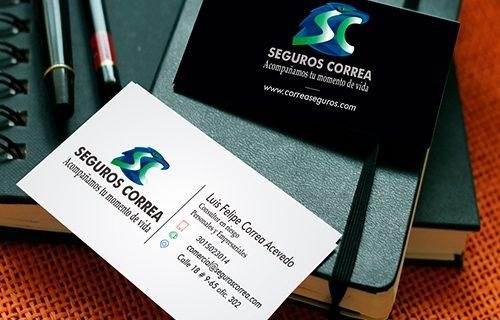 Diseño de marca – Seguros Correa