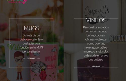 Página web y tienda virtual PP – T-Krea