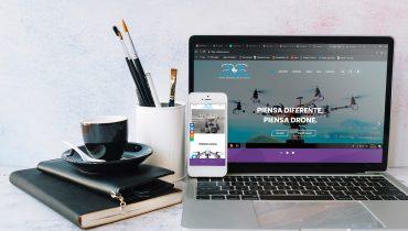 Desarrollo web & e-commerce ColDrone