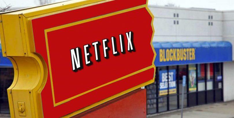 Netflix vs Blockbuster: Transformación digital