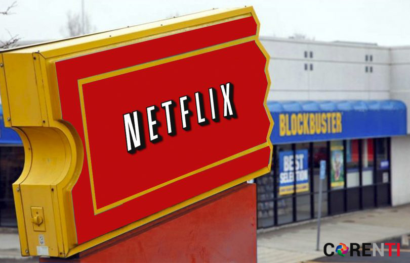 Netflix vs Blockbuster: Transformación digital